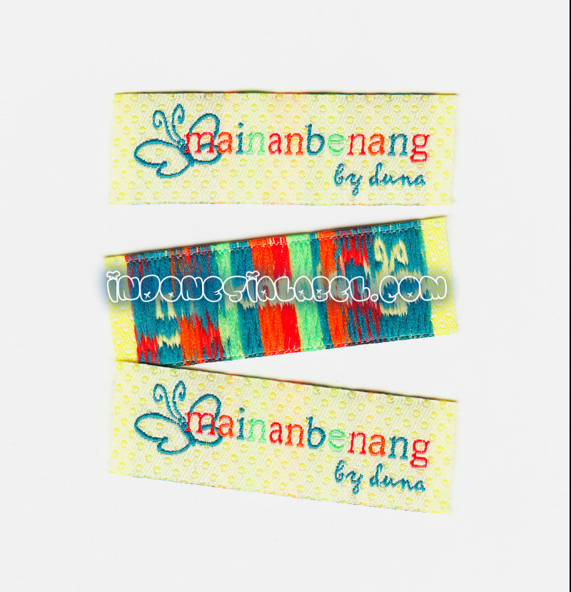 woven label indonesia