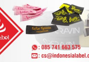 label baju indonesia label